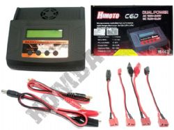 Airsoft Battery Charger C6D Universal Fast Smart Lipo Li-Ion NiCd NiMH Battery Packs